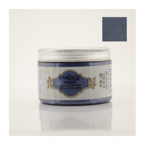 Diamond Metallic Paste Dark Blue