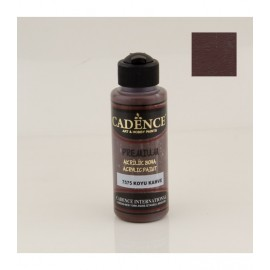 Acrylic Paint 250ml Dark Brown