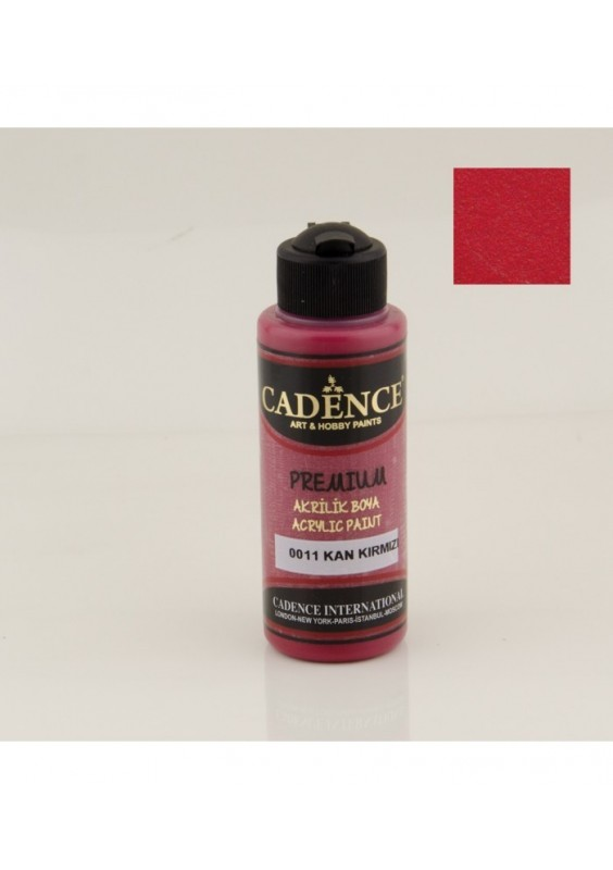 Acrylic Paint 250ml Blood Red