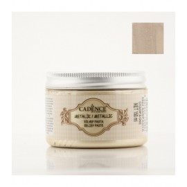 Metallic Relief Paste Champagne
