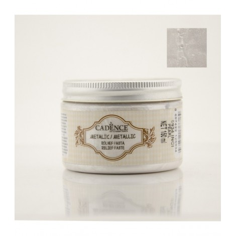 Metallic Relief Paste Pearl