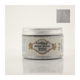 Metallic Relief Paste Silver
