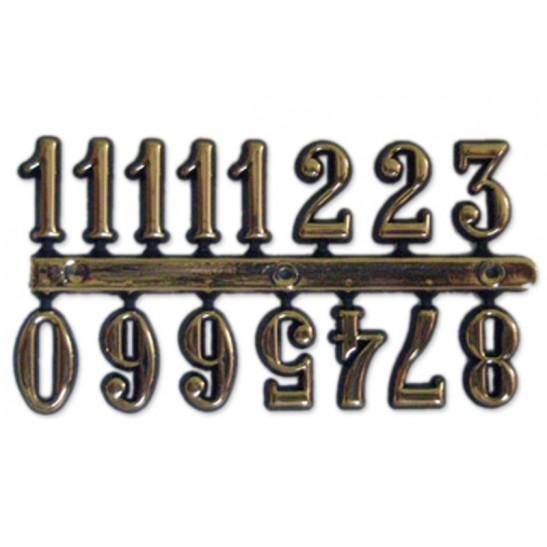 Αυτοκόλλητοι αριθμοί χρυσοι 15 mm
