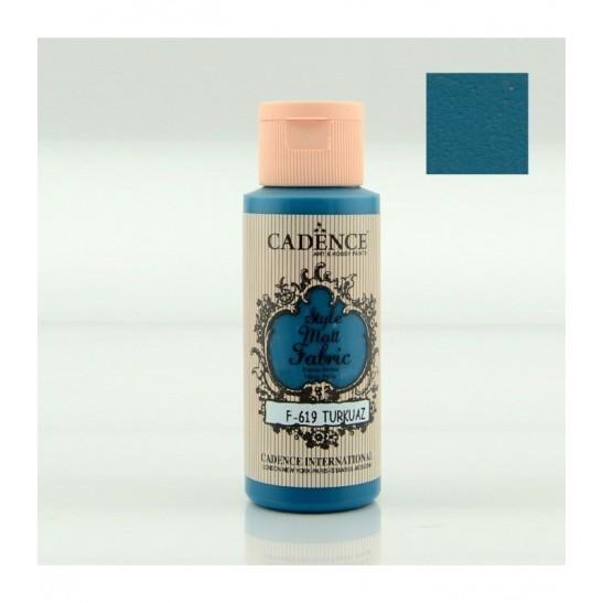 Χρώμα υφάσματος Turquoise 59 ml