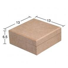 Κουτί τετράγωνο 13X13X6,5 εκ.