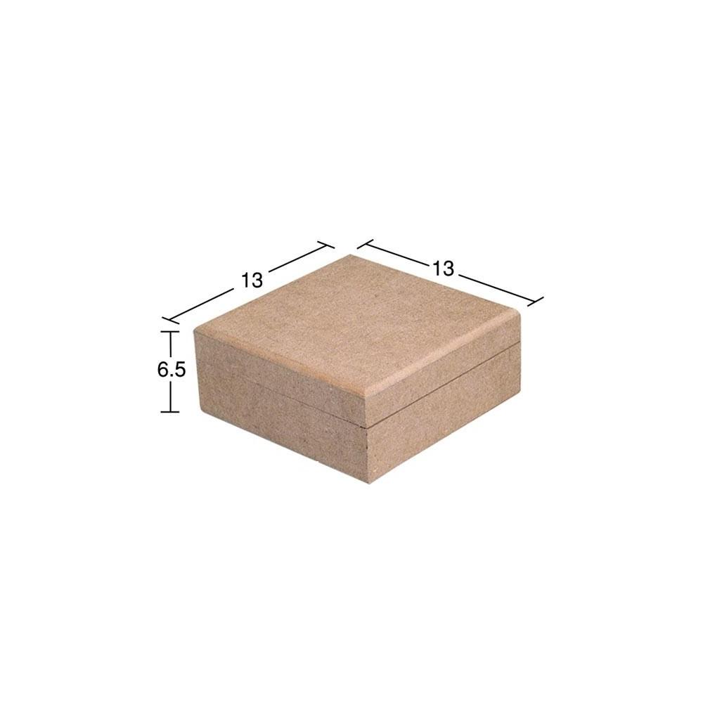 Κουτί τετράγωνο 13X13X6,5
