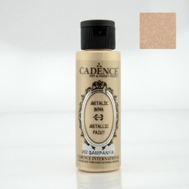 Metallic Paint 70ml CHAMPAGNE