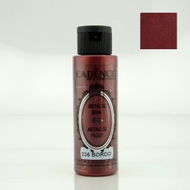 Metallic Paint 70ml Bordeaux Metallic