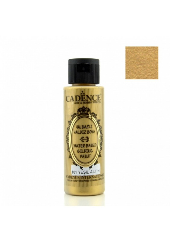 Green gold gilding metallic 70 ml