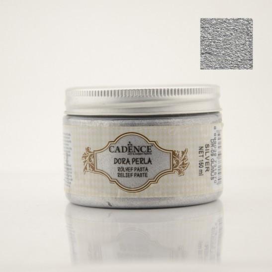 Πάστα διαμόρφωσης dora perla silver 150 ml