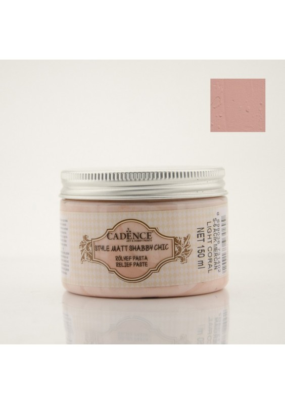 Shabby chic relief - Light Coral