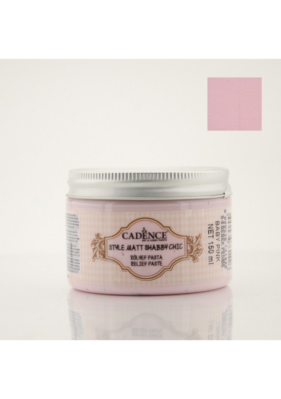 Shabby chic relief - Baby Pink