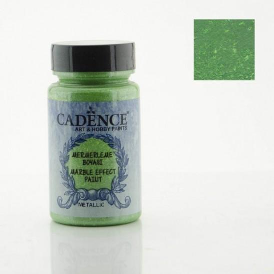 Marble Effect Dark Green Metallic 120 ml