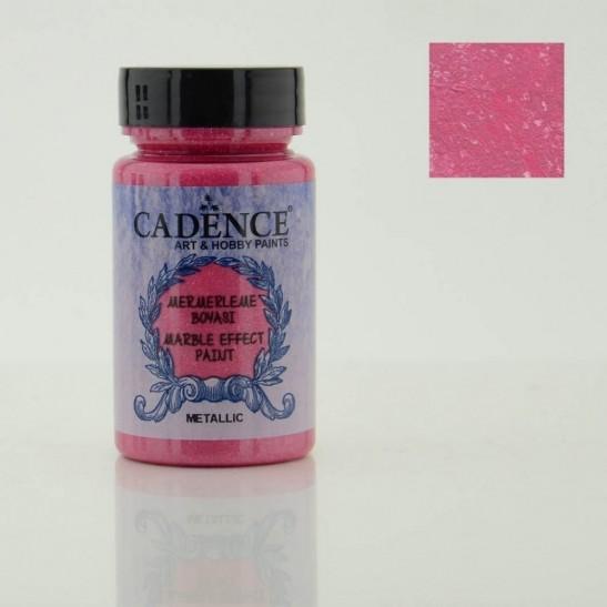Marble Effect Pink Metallic 120 ml
