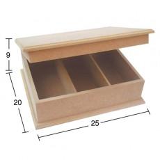 Κουτί 3 θήκες 25X20X9 εκ.