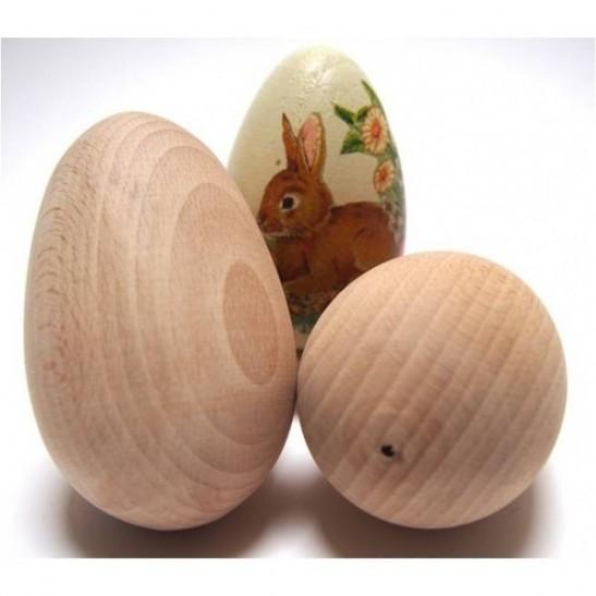 wooden egg 5.5 cm