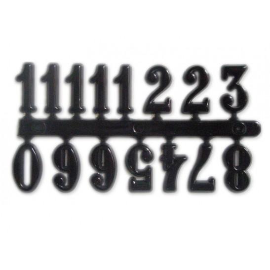 Αυτοκόλλητοι αριθμοί μαυροι 15 mm