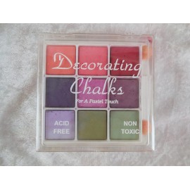 SET CHALKS PASTEL 9 PIECE