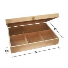 Κουτί 5 χωρίσματα 34Χ25Χ8,5