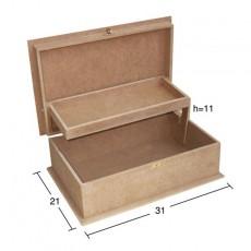 Κουτί ορθογώνιο 31Χ21Χ11
