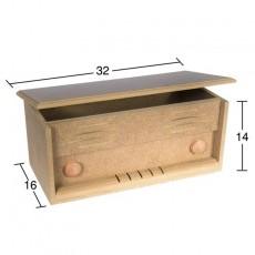Κουτί ορθογώνιο 32X16X14