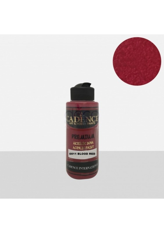 Acrylic Paint 120ml Blood red