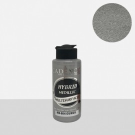 Hybrid metallic paint silver