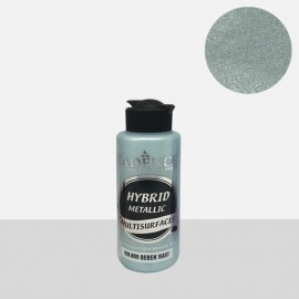 Hybrid metallic paint baby blue