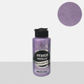 Hybrid metallic paint lilac