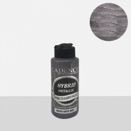 Hybrid metallic paint antique purple