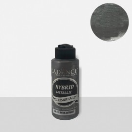 Hybrid metallic paint antique anthrachite
