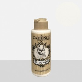 Style Matt warm white 120 ml