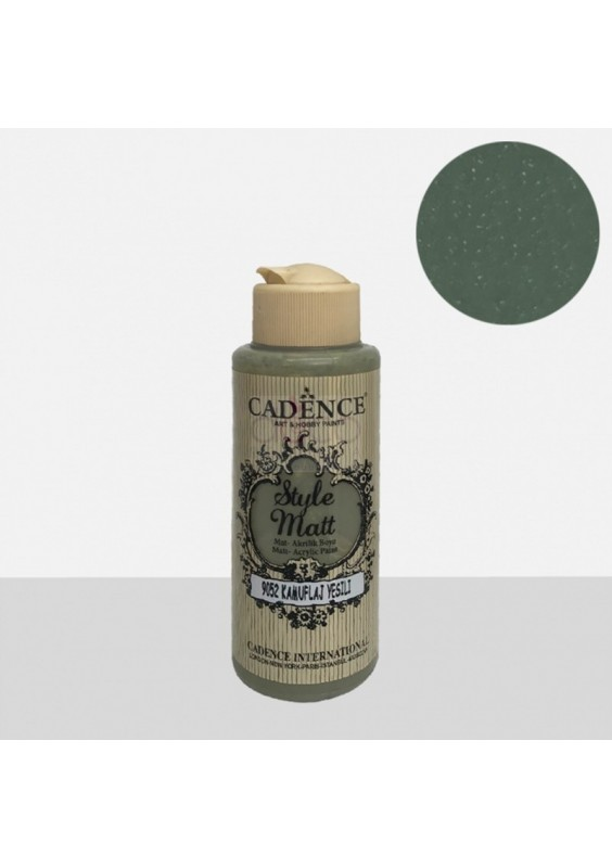 Style Matt Camuflage green 120 ml