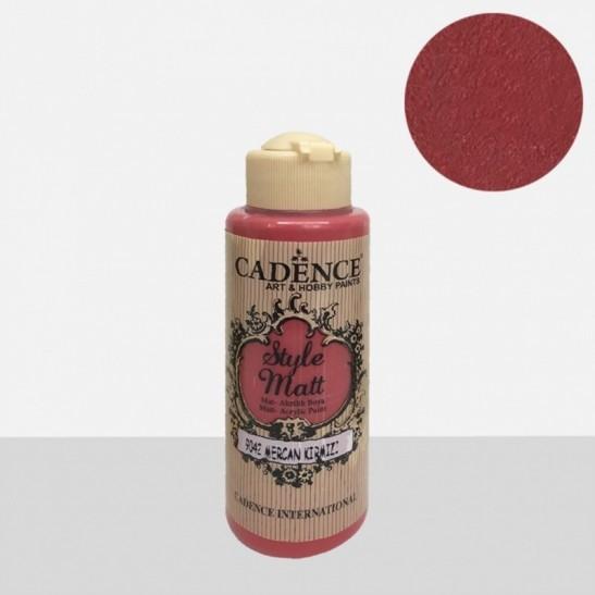 Style Matt Coral red 120 ml