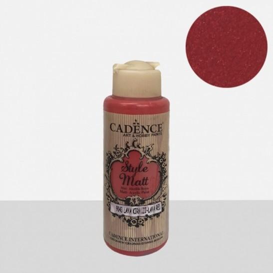 Style Matt Lava red 120 ml