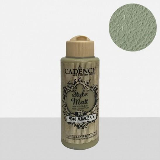 Style Matt Mimosa Green 120 ml