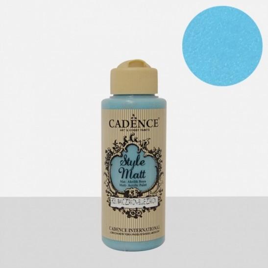 Style Matt Blue zirgon 120 ml