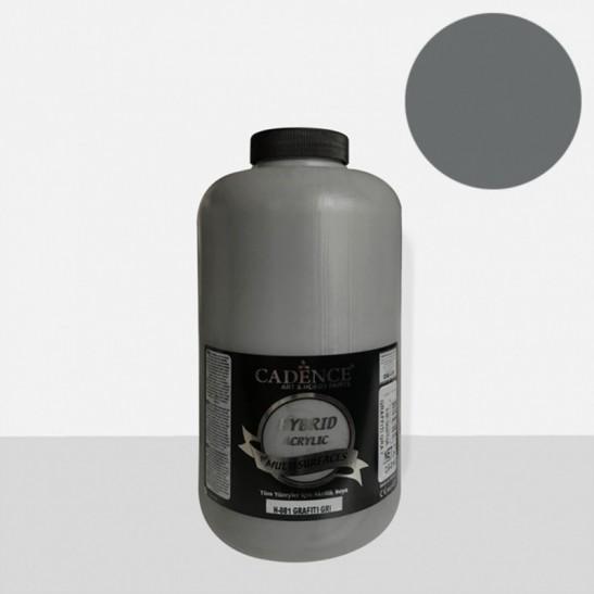 Υβριδικό ακρυλικό Graffiti gray 2Lt H081