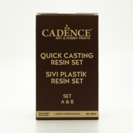 Quick casting resin set 250+250 ml