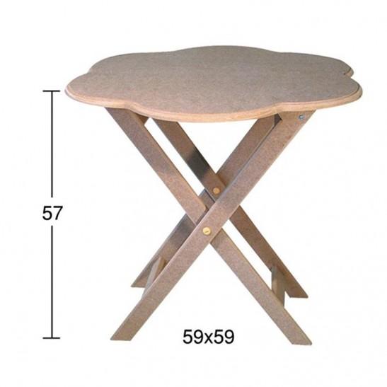 Τραπέζι μαργαρίτα 59X59X57